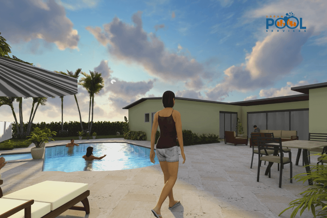 Free Custom Pool 3D Design