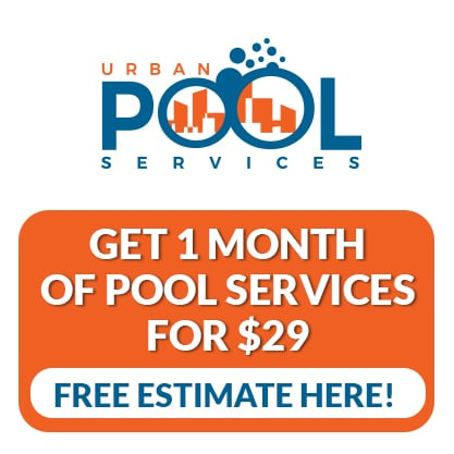 1 Month of Pool Service for $29