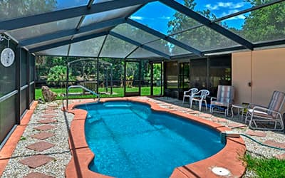 Pool Enclosure in Fort Lauderdale, Florida