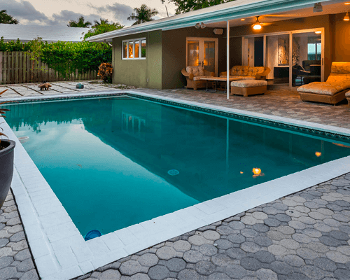 Pool in Home, Oakland Park