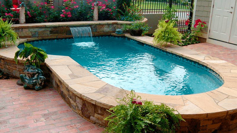 personalized swimming pool in florida del sur