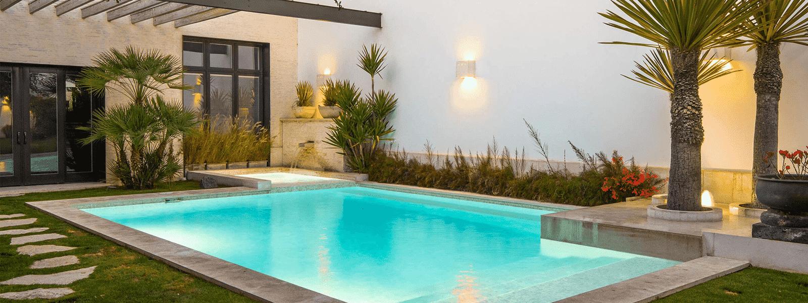 beautiful pool remodeling with custom design